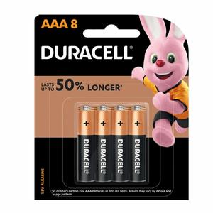 Duracell Cb Aaa 8 And 4Bl Monet 1pc