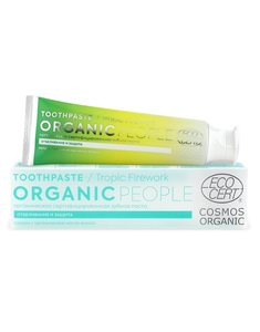 Organic People Tooth Paste Ginger Fizz 85g