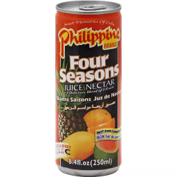 Philippines Brand Juice Nectar Four Season 250ml