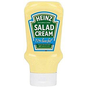 Heinz Light Salad Cream Top Down 230g