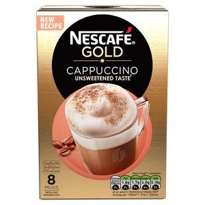Nescafe Gold Cappucino Unsweetened Taste 113.6g
