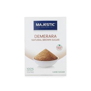 Majestic Demerara Natural Brown Sugar 500g