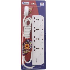 Sirocco Extension Socket 4Way 1pc