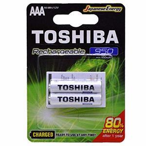 Toshiba Rechargeable Aa 2pcs