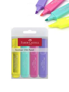 Faber Castell Textliners Pastel Color Set 4pc