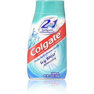 Colgate Liquid 2In1 Icy Blast White 130g