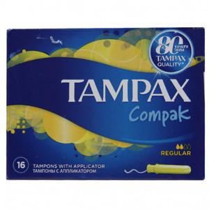 Tampax Compak Regular 16s