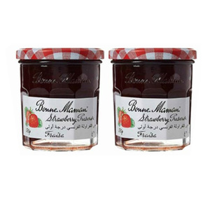 Bonne Maman Jam Strawberry Promo 2x370g