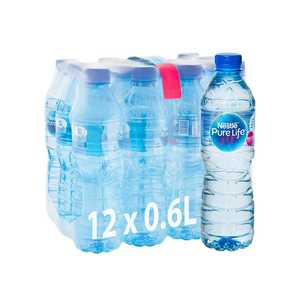 Nestle Pure Life Drinking Water 12x600ml