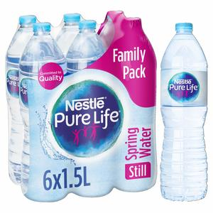 Nestle Pure Life Drinking Water 6x1.5L