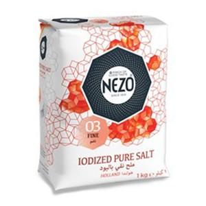 Nezo Salt Red + Plastic Container 3x1kg+ Container