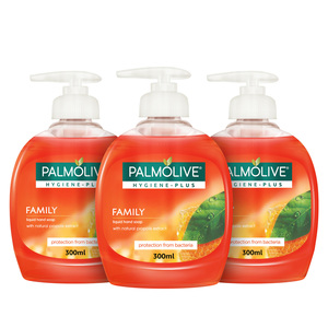 Palmolive Anti Bacterial Hand Wash 3x300ml
