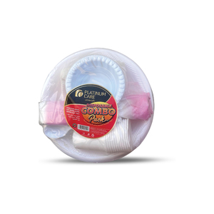 Platinum Care Disposable Combo Pack 1set