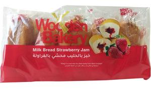 Wooden Bakery Milk Bread  Strawberry 200g