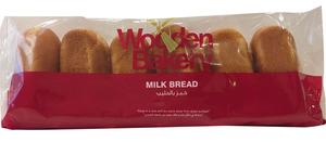 Wooden Bakery Milk Bread White Plain 190g