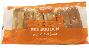 Wooden Bakery Roll Hot Dog 340g