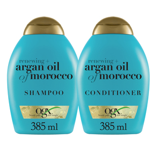 Ogx Moroccan Argan Oil Shampoo With Conditoner 385ml+385ml