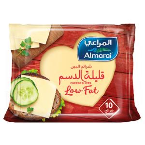 Almarai Slices Cheddar Low Fat 200g
