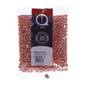 Alef Raw Peanuts 200g