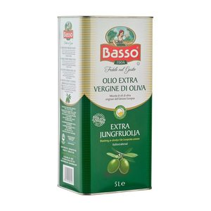 Basso Extra Virgin Oil Tin 5L