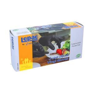 Lepac Vinyl Gloves Assorted 100pcs