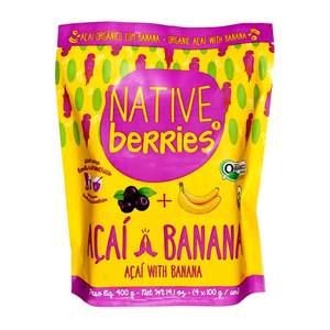 Native Organic Acai With Banana 400g