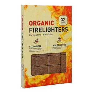Organic Firelighter Cubes 32pcs