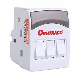 Oshtraco 3Way Switched Adaptor 1pc