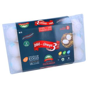 Ova Plus Omega 3 Eggs Large Tray 15pcs