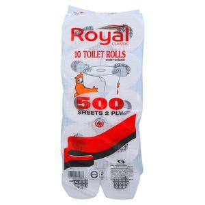 Royal Classic Toilet Roll 10x500s