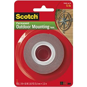 Scotch Outdoor Mounting Tape 1pc