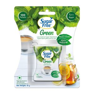 Sugar Free Green Stevia 100pcs