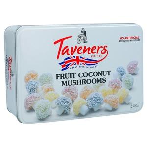 Taveners Fruit Coconut Mushrooms 500g