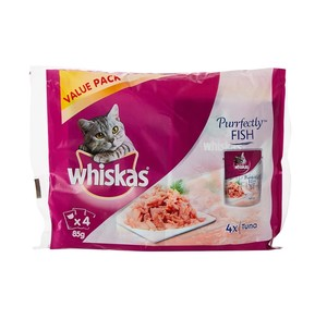 Whiskas Perfectly Tuna 4x85gm