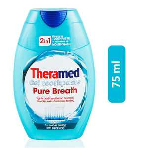 Theramed 2in1 Pure Breath Gel Toothpaste 75ml