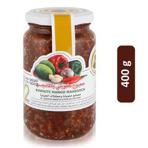 Al Jazeera Kuwaiti Mango Maabooch Pickles 400g