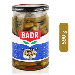 Badr Okra Pickle 590g