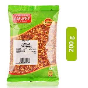 Nature's Choice Crushed Chili 200g