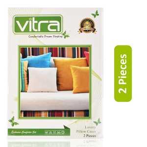 Vitra Comfortable Dream Sleeping Luxury Pillow Cases 50 x 70cm 2pcs