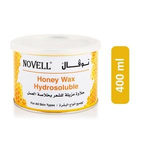 Novell Hydrosoluble Honey Wax for All Skin Types 400ml