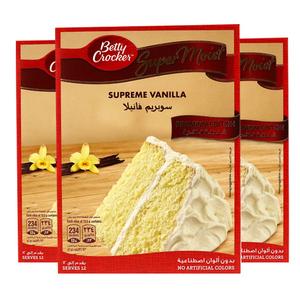 Betty Crocker Supermoist French Vanilla Premium Edition Cake Mix 3x510g