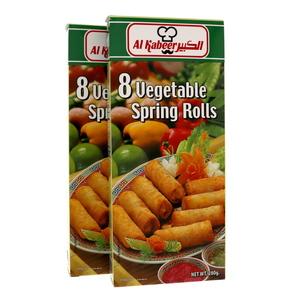 Al Kabeer Spring Roll Vegetable 2x280g