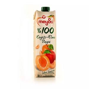 Meysu 100% Apricot & Apple Juice 1l