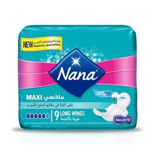 Nana Maxi Long Pads With Wings 60s