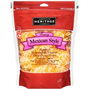 American Heritage Shredded Mexican Style 227g