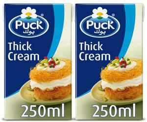 Puck Thick Cream 2x250ml
