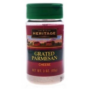 American Heritage Grated Parmesan 85g