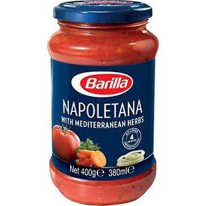 Barilla Napoletana Pasta Sauce With Italian Tomato and Herbs 400g
