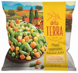 Della Terra Mixed Vegetables 400g