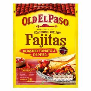 Old El Paso Roasted Tomato & Pepper Fajita Mix 25g